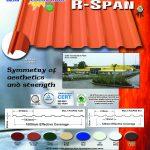 Multi R Span | Rib Type Roofing Profile | Puyat Steel