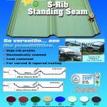 S Rib (Standing Seam) | Rib Type Roofing | Puyat Steel