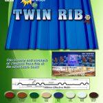 Twin Rib | Rib Type Roofing | Puyat Steel