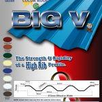 Big V   Rib Type Roofing   Puyat Steel