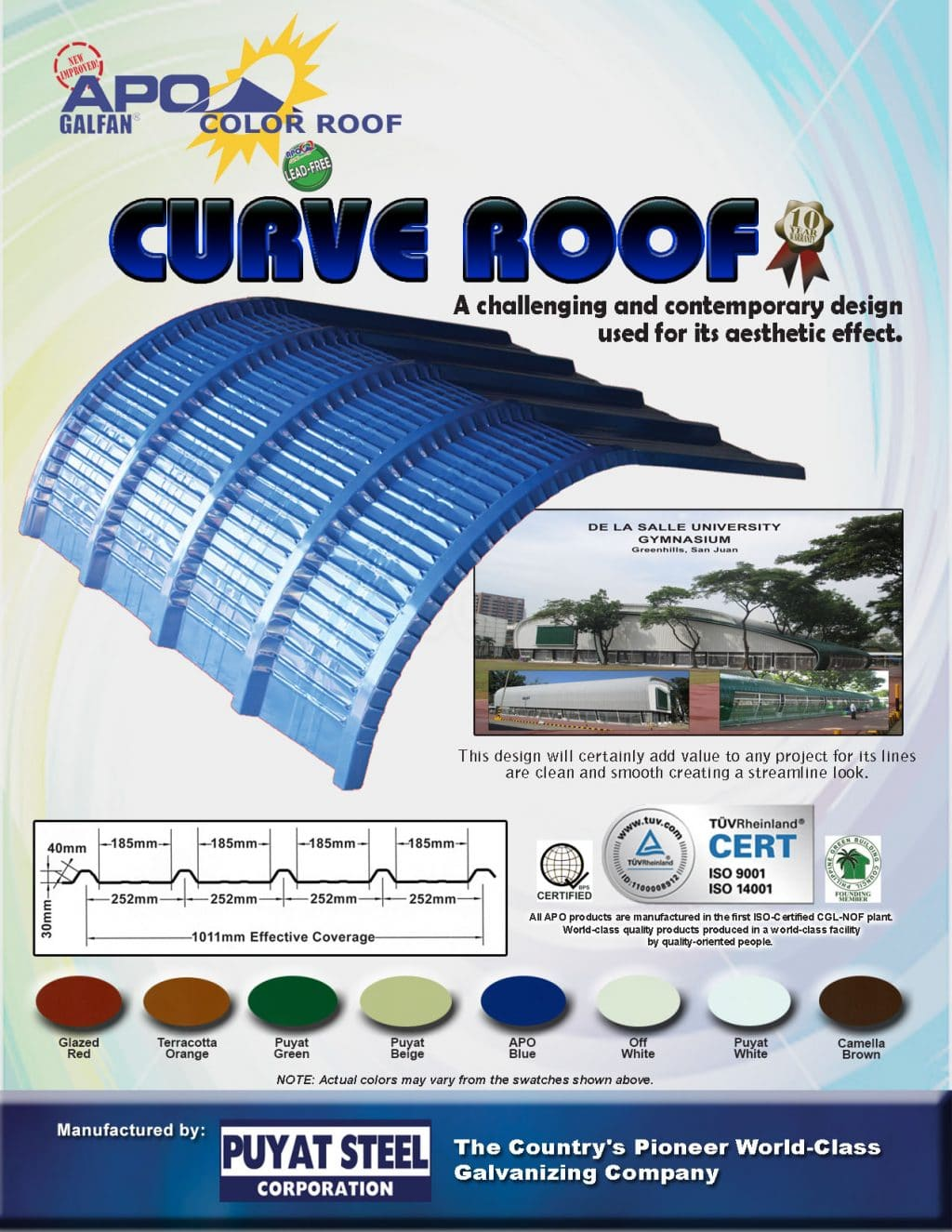 Longspan Steel Roofing Puyat Steel Corporation