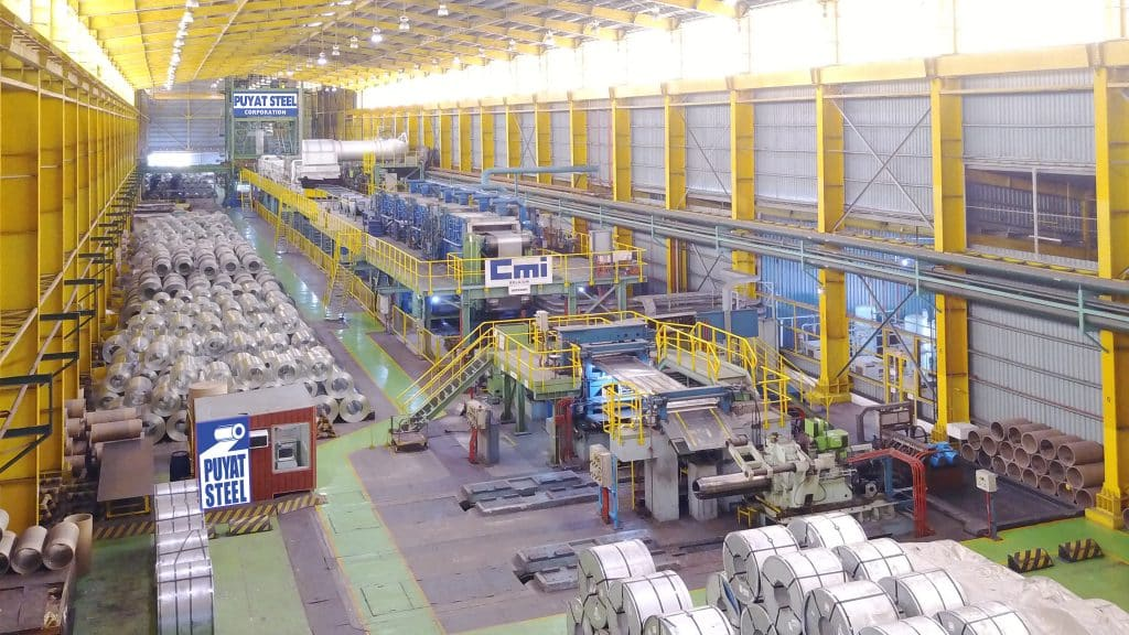 Steel Roofing Manufaturing Plant - Continuous Galvanizing Line