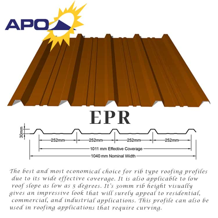 Puyat Steel Corporation Apo Longspan Color Roofs