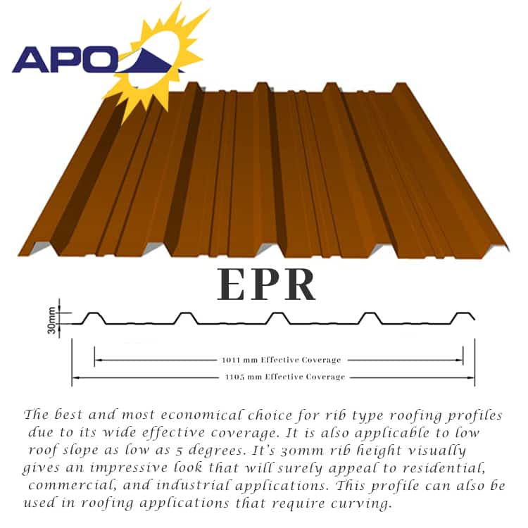 APO Galfan Corrugated Sheets | Yero - Puyat Steel Corporation