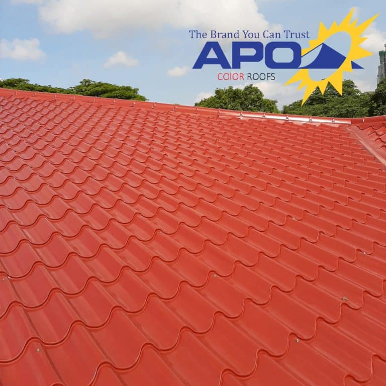 Apo Color Roofing Longspan Puyat Steel Corporation