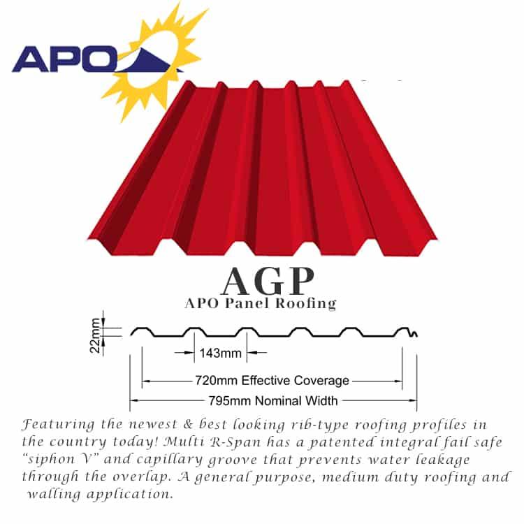 APO Galfan Corrugated Sheets | Yero - Puyat Steel Corporation